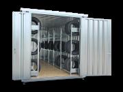 Reifencontainer