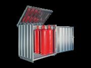 Gasflaschenbox