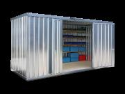 Hochdach-Einzelcontainer