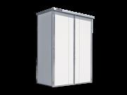 Regalcontainer isoliert mit Witterungsschutz