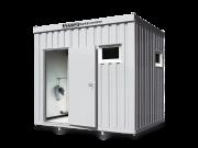 Kleine Dusch- und WC-Container