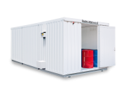Isolierte Containeranlage