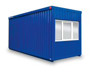 Bürocontainer mit WC