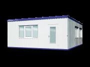 Wohncontainer-Containeranlage