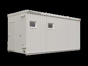 Große Dusch- und WC-Container