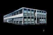 Wohncontainer-Anlage stapelbar