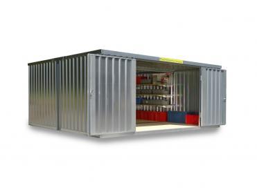 Materialcontainer Kombinationen von 12 bis 32 m²