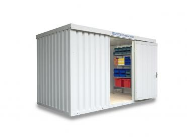 Isolierte Materialcontainer bis 12 m²