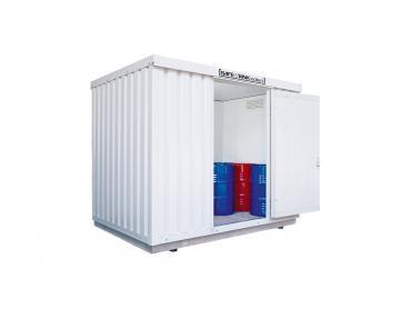 Isolierte Gefahrstoffcontainer bis 11 m²