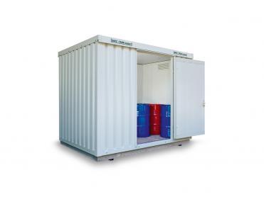 Gefahrstoffcontainer isoliert bis 12 m²