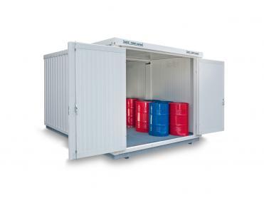 Gefahrstoffcontainer isoliert von 12 bis 32 m²