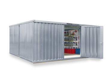 Materialcontainer Kombinationen von 12 bis 32 m²