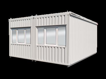 Baustellen- und Sozialcontainer als Raumkombination