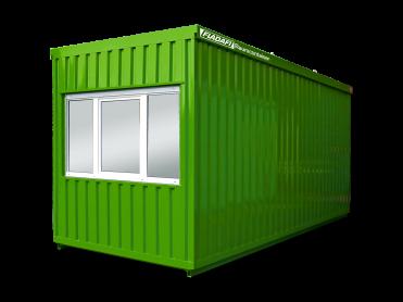 Baustellen- und Sozialcontainer als Einzelcontainer