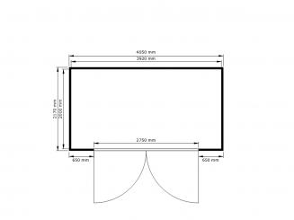 ST 1350 ECO, mit Differenzdruckwächter zur Überwachung der Lüftungsanlage