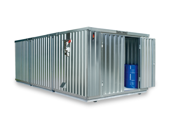 Gefahrstoffcontainer ST 3000 SAFE Tank CONTROL