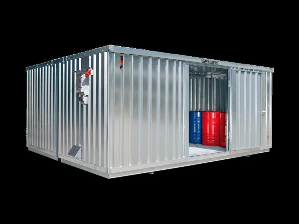Gefahrstoffcontainer ST 4000 SAFE Tank CONTROL