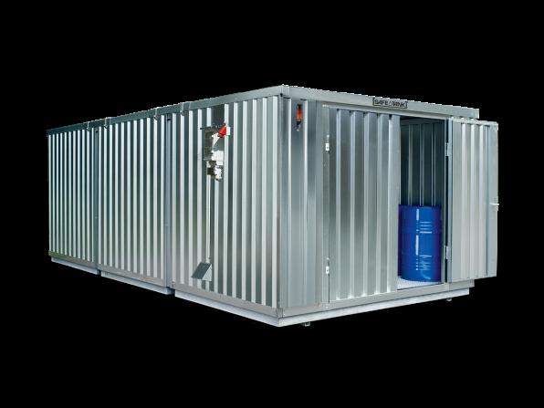 Gefahrstoffcontainer ST 3500 SAFE Tank CONTROL