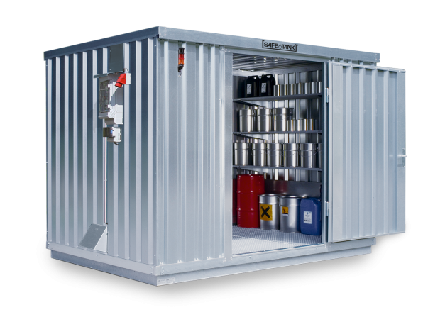 Gefahrstoffcontainer ST 1000 CONTROL SAFE Tank