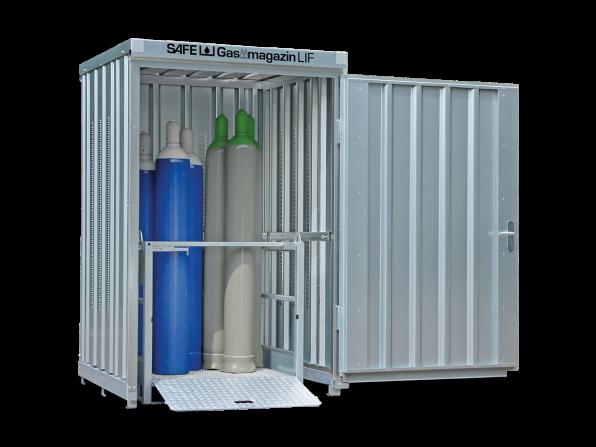 Gasflaschen-Lager GM 125 LIF ohne Fussboden