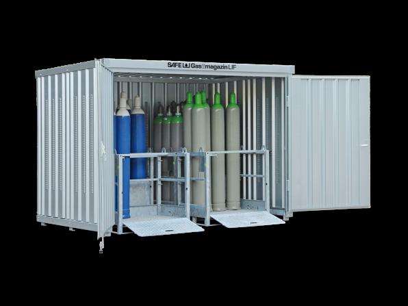 Gasflaschen-Lager GM 366 LIF ohne Fussboden