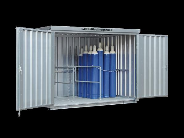 Gasflaschen-Lager GM 366 LIF mit Fussboden