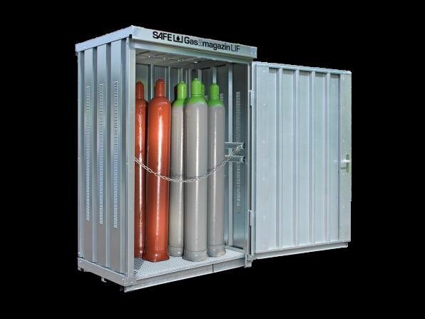 Gasflaschen-Lager GM 114 LIF mit Fussboden