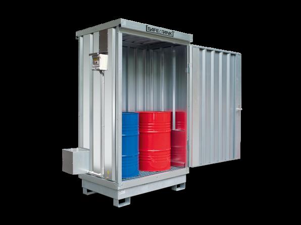 Gefahrstoffcontainer ST 100 ALG SAFE Tank