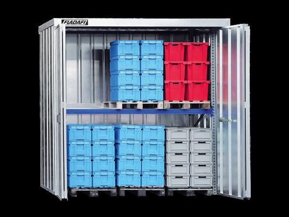 Regalcontainer GT3 als Grundregal