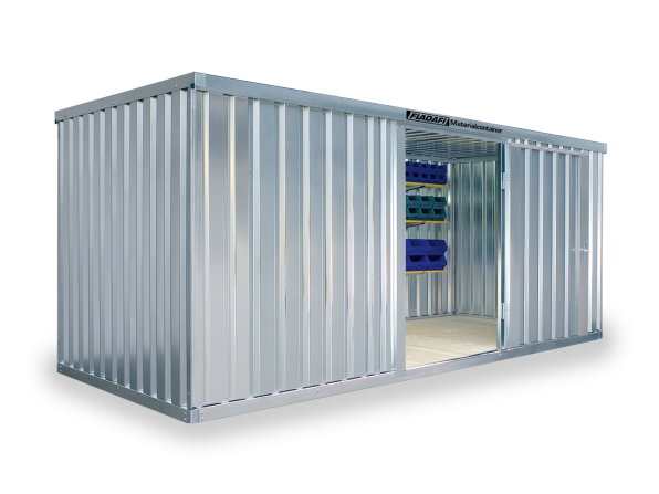 Materialcontainer MC 1500 mit Boden