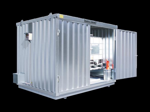 Gefahrstoffcontainer ST 1000 KTC ALG