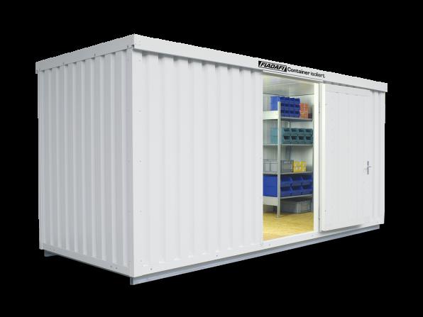 Isocontainer IC 1500 mit isoliertem Boden