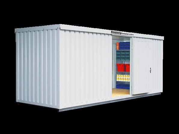 Isocontainer IC 1600 mit isoliertem Boden