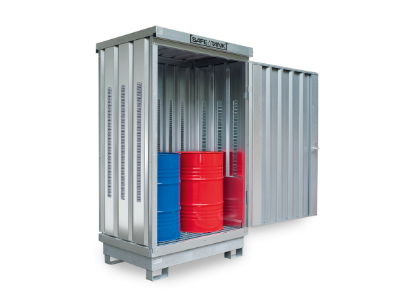 Gefahrstoffcontainer ST 100 SAFE Tank PLG