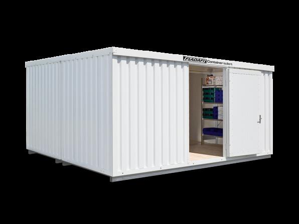 Isocontainer IC 1540, mit isoliertem Boden