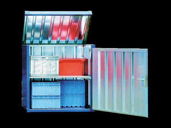 Magazinbox MB 2 mit Boden