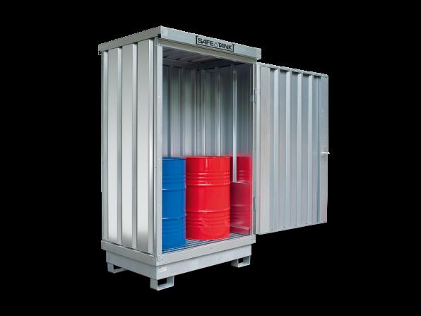 Gefahrstoffcontainer ST 100 SAFE Tank für WGK 1-3