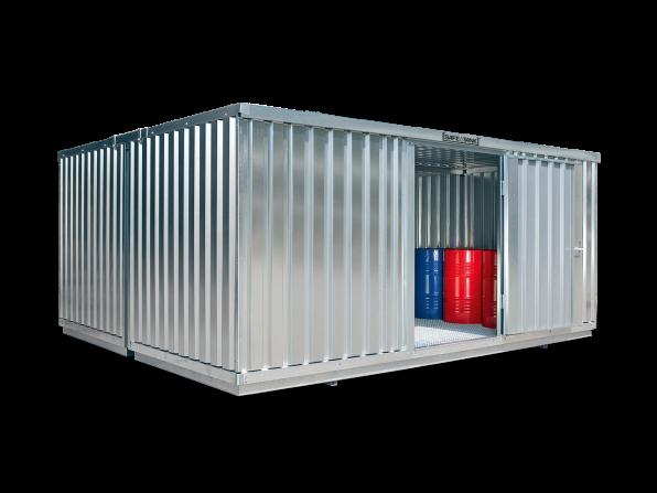Gefahrstoffcontainer ST 4000 SAFE Tank für WGK 1-3