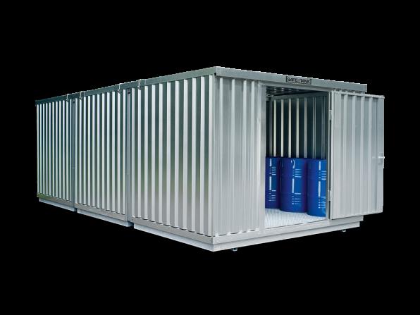 Gefahrstoffcontainer ST 3500 SAFE Tank für WGK 1-3
