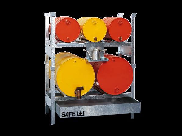 SAFE Kleingebinderegal mit Einschubwanne Komplettset KS5L