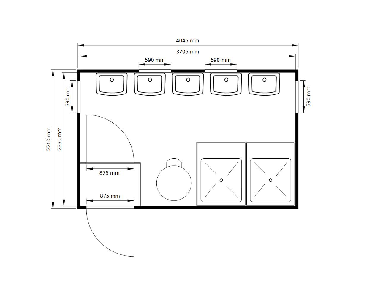 fladafi containerbau sc 4857 4 m container kaufen. Black Bedroom Furniture Sets. Home Design Ideas